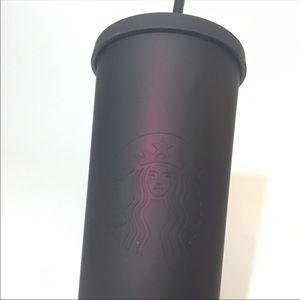 2019 Fall Starbucks Tumbler Plum Purple Black NEW